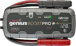 Noco Genius Gb150 Boost Pro Lithium Ultrasafe Jump Stater 4000A New