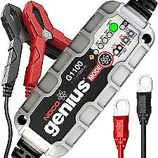 NOCO Genius G1100UK 6V/12V 1.1 Amp UltraSafe Battery Charger