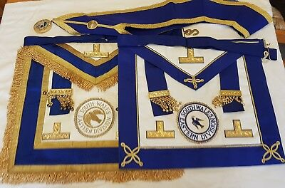 Masonic Craft Provincial Regalia- South Wales Eastern Division