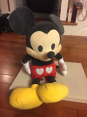 "Disney Just Play Large Jumbo Mickey Mouse Plush Stuffed Animal 24"" B41"