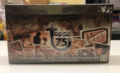 2013 Topps 75th Anniversary hobby sealed 24-pack BOX  3 AUTOGRAPHS per box