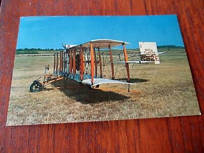 1950's Vintage Phillips 66 Aviation Products Billy Parker French Plane Postcard