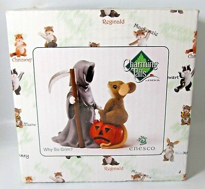 Charming Tails by Enesco - Why so Grim? Autumn Collectible