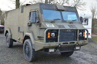 Glover and Webb (Alvis) TACTICA Armoured Truck