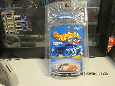 2001 Hot Wheels Final Run '55 Chevy Red & White Sealed  #2 Of 12  (Box)