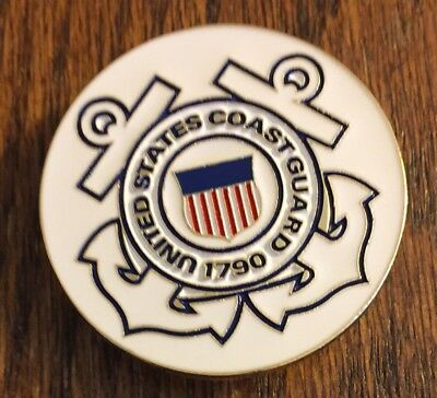U.s. Coast Guard -  X Large Pin - New