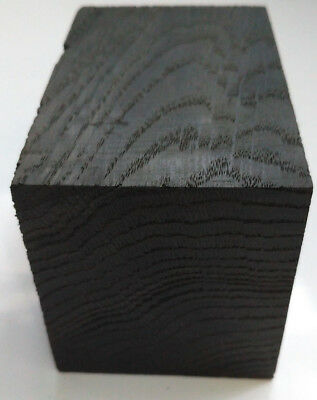 "BLACK bog oak (morta) blank for pipe of size 55*60*90mm (2.16"" х 2.36"" х 3.54"")"