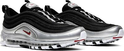 Nike Air Max 97 QS AT5458-001 'Black/Metallic Silver' sz 4-11.5
