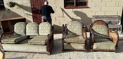 3 Piece Bergere Suite for re-upholster