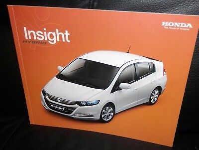 Honda Insight Katalog Deutsch! AT