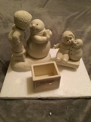 You make my heart sing Snowbabies Collectible by Dept 56