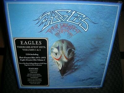 THE EAGLES **Their Greatest Hits, Vols. 1 & 2 **BRAND NEW RECORD LP VINYL