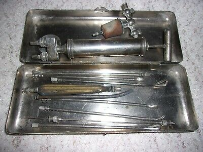 Vintage Antique Medical Equipment Tools Device  **NOT FOR USE**