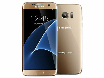 EXCELLENT Samsung Galaxy S7 SM-G930A 32GB Gold (AT&T GSM Unlocked) HAS LCD BURN