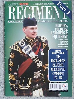 5f45555fa88c Collectables Other Militaria Regiment The Military Heritage Collection  Magazine Wide Choice Of Back Issues