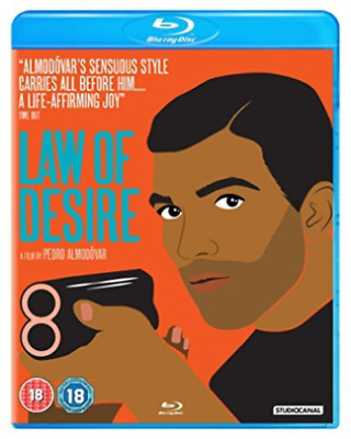 Law Of Desire Bd (UK IMPORT) BLU-RAY Brand New Factory Sealed w/ slip Almodovar