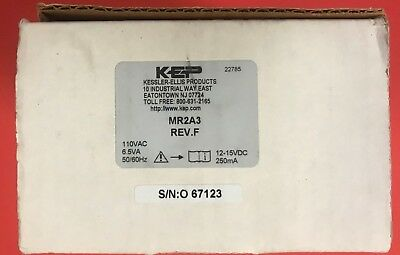 KEP Kessler Ellis MR2A3 Rev F New in Box