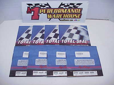 "8 NEW Total Seal Diamond Finish Piston Rings 100081-4.180"" -.0325"" NASCAR BB2"