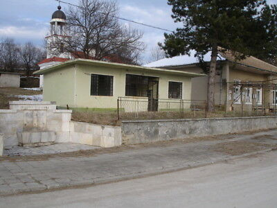 Bulgarian Bulgaria Close to Popovo Building in the center village of Dolets