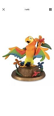 Disney Parks Enchanted Tiki Room Bird Medium Big Fig Figure New in Box Sold Out