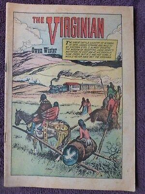 """Early Classics Illustrated """"The Virginian"""" Comic"""