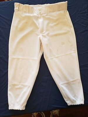 Rawlings Women's Softball Pants size XL 2-snap with belt loops & 2 pockets (118)