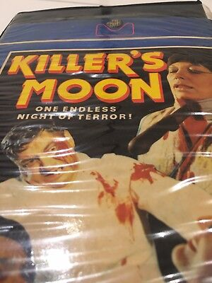 Killers Moon VHS Cult Collectible Horror Film