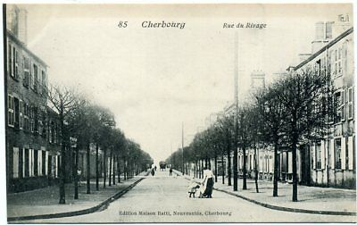 cpa  	Cherbourg  rue du Rivage