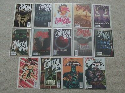 Omega Men #1-12 (Full Run)  Tom King!  Barnaby Bagenda!  Green Lantern!  +BONUS!
