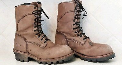e493ba207c1 MENS RED WING 2292 Gore Tex Logger Steel Toe Safety Boots Sz 11.5