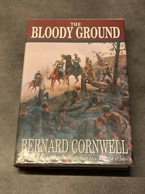 Bernard Cornwell The Bloody Ground 1st US H/B Edition Immaculate & SIGNED 1996