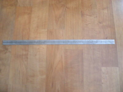 "Starrett~No 4R Grad~Combination Square SCALE~RULE~24"" Hardened~Grooved~ridgid"