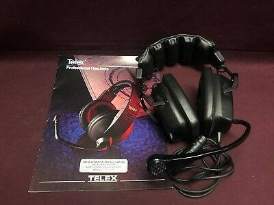 Telex PH-2 Dual Sided Headset with Flexible Dynamic Boom Microphone 6437-006