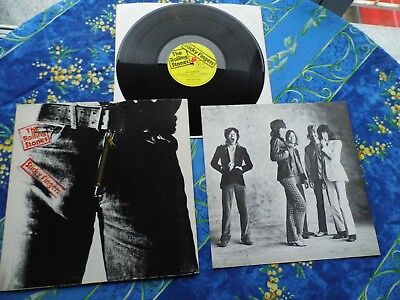 Rolling Stones Sticky Fingers With Zipper Dream Condition Mega Rare Lp