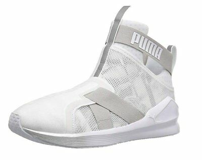 PUMA FIERCE SWAN Womens Slip On Mesh Dance Fitness Gym Trainers ... 5024f854a