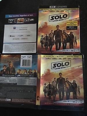 star wars solo 4k and blue ray collectors edition movies with movieanywhere code