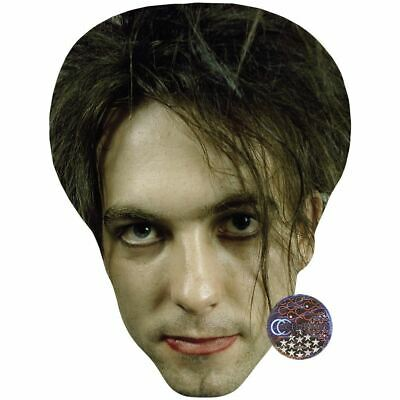 Robert Smith (Young) Maske aus Pappe