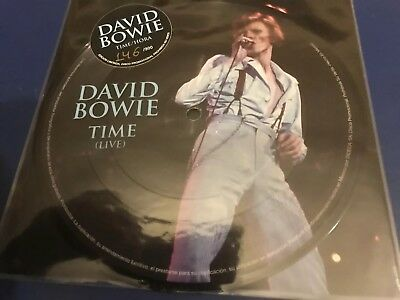 "David Bowie - Rare Limited Edition Numbered 7"" Vinyl Picture Disc"