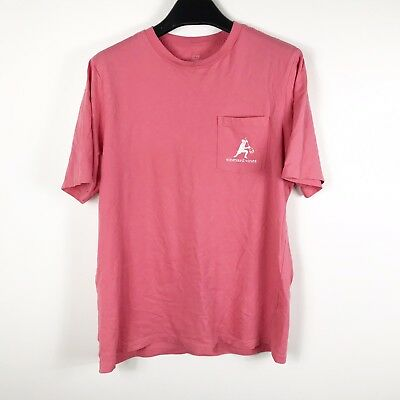 d54441abe8be95 Vineyard Vines Youth Boys Red Whale Logo Shirt Sz XL (18) Lacross Short  Sleeve
