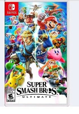 Super Smash Bros. Brothers Ultimate - Nintendo Switch Video Game