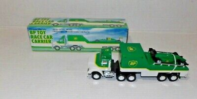 1993 BP Toy Race Car carrier Limited Edition in box