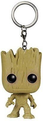 Funko Pocket POP Marvel Guardians of the Galaxy Groot Key Chain New