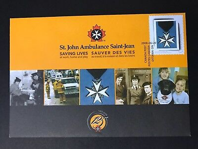 Canada Stamps - S79 St. John Ambulance (Special Events Cover) 2008
