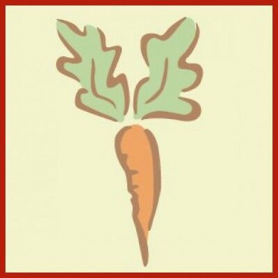 PETER RABBIT'S CARROT-- BEATRIX POTTER DESIGNS -- NEW! -- The Artful Stencil