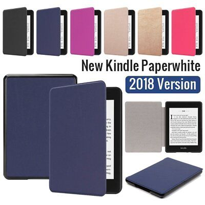 Smart Case Magnetic Leather Cover For Amazon Kindle Paperwhite 2018 10th Gen UK