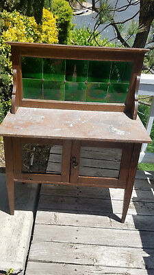 antique marble top wash stand