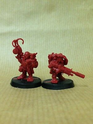 Warhammer Quest Blackstone Fortress Ratling Twins Raus and Rein New on Sprue