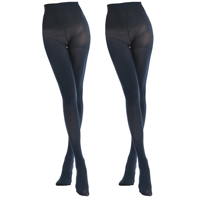 19b4e32fb MANZI 2 Pairs 70 Denier Women s Tights Stretch Run Resistant Opaque Control  Top