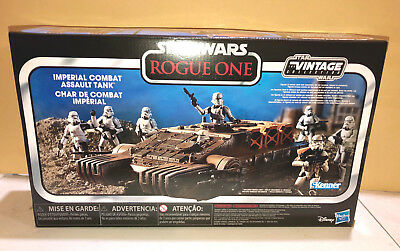 Star Wars Hasbro Vintage Series ROGUE ONE Imperial ASSAULT HOVER TANK NEW STOCK