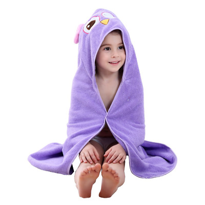 COOKY.D Baby Bath Towels with Hood Ultra Soft Cotton Hooded Robe for Boys...